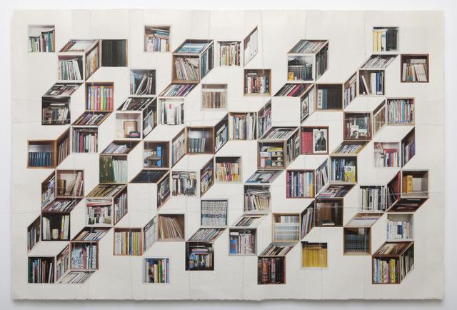, 'Book Highway 329 [책가도329],' 2014, Gallery Jinsun