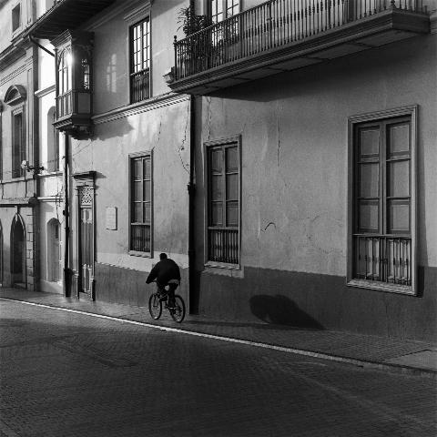 Mario Algaze, 'La Sombra del Ciclista, Bogota, Colombia', 2002, PDNB Gallery