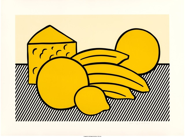 Roy Lichtenstein, 'Yellow Still Life, from the Six Still Lifes portfolio', 1974, Heritage Auctions