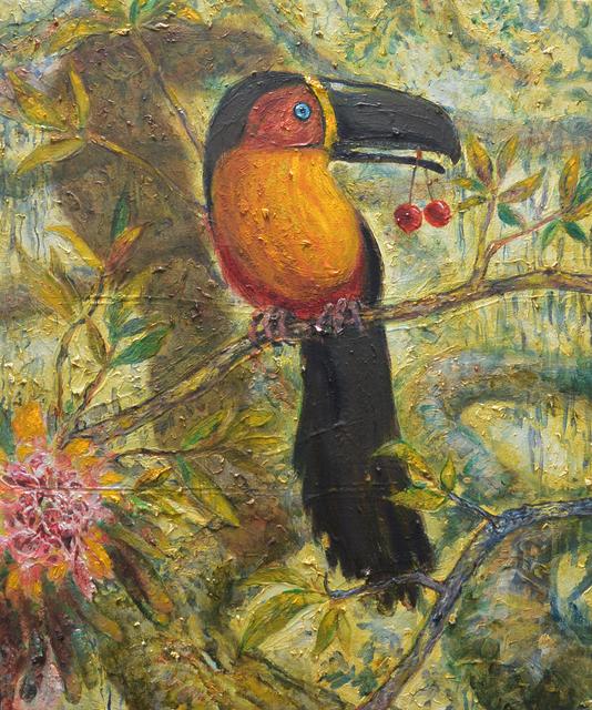 Thomas Braida, 'Il pappagallo con le ciliegie', 2014, MONITOR