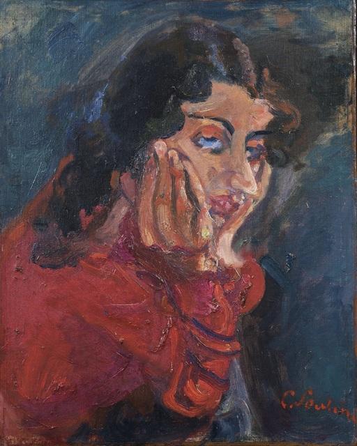 , 'La Femme Accoudée,' ca. 1937, DICKINSON