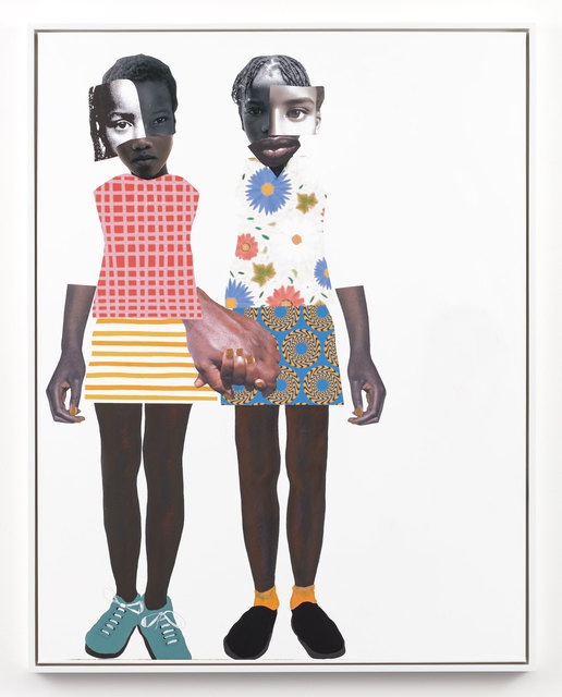 Deborah Roberts, 'Don't let go (RR)', 2019, Stephen Friedman Gallery