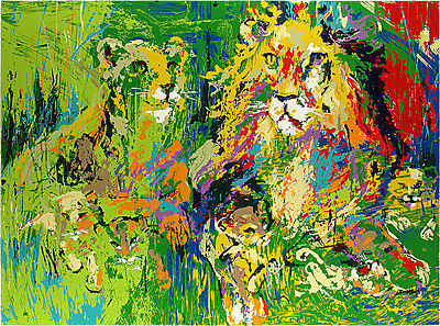 LeRoy Neiman, 'Lion Family', 1974, David Parker Gallery