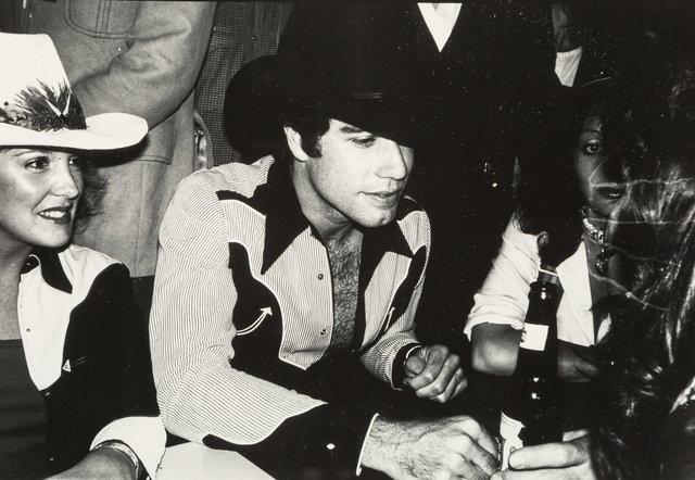 Andy Warhol, 'John Travolta, Diane von Furstenberg, and Unidentified Woman', circa 1980, Heritage Auctions