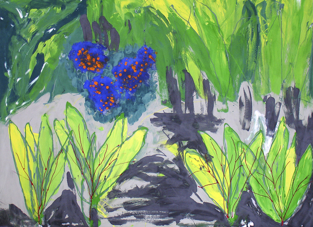 , 'Forget-me-not,' 2009, Flowers