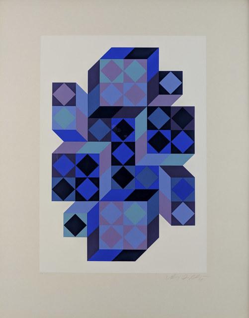 Victor Vasarely, 'Tridim BB', c.1968, Print, Silkscreen, Capsule Gallery Auction