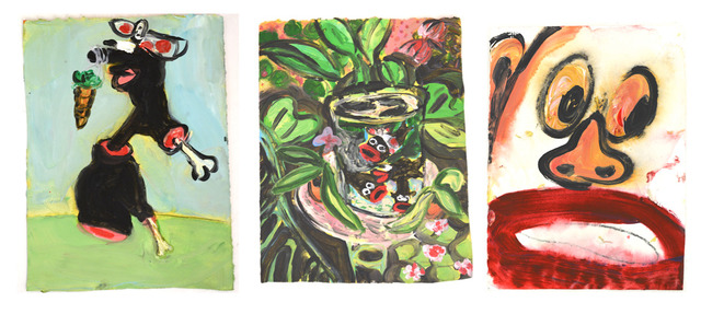 ", 'Dangling Carrot |""Bro"" Fish, After Matisse | Self 45,' 2017, Ethan Cohen New York"
