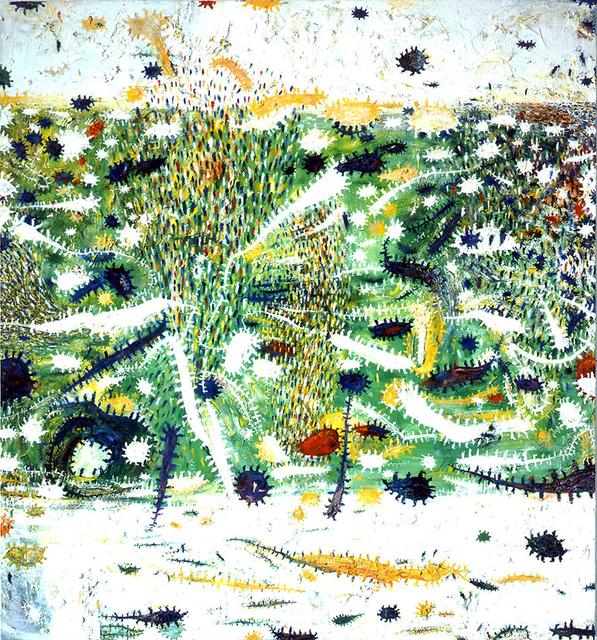 Gunter Damisch, 'WeissfeldweltenInnererFrühling', 2000-2001, Galerie Ernst Hilger