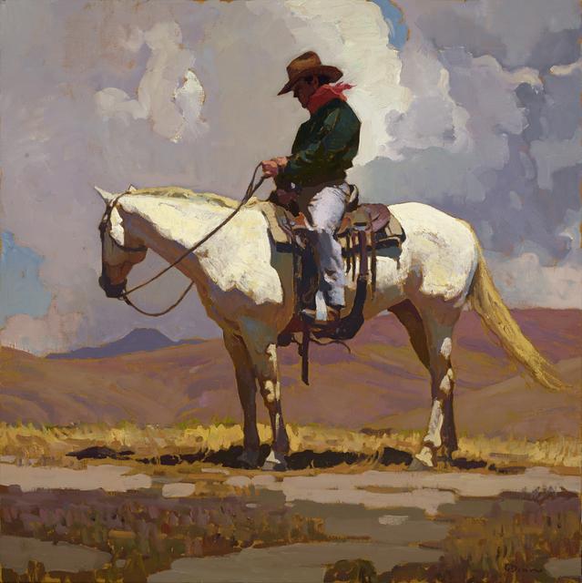 "Glenn Dean, '""Holding Steady""', 2015, Painting, Oil, Maxwell Alexander Gallery"