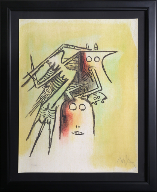 Wifredo Lam, 'El casquee', 1974, RoGallery
