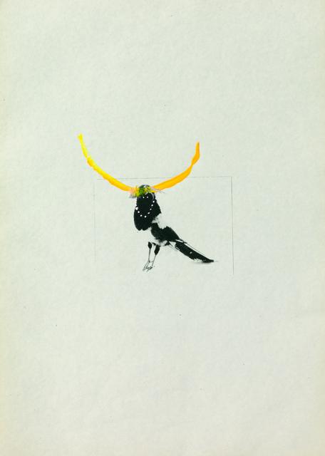 Petrit Halilaj, 'Several birds fly away when they understand it (5)', 2013, ChertLüdde