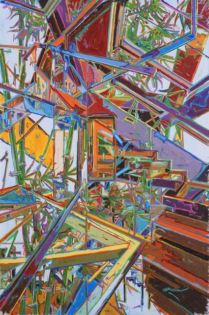 , 'Sprawling Bamboo,' 2015, CFHILL