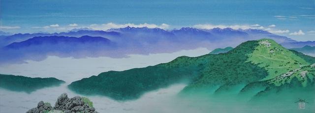 , 'From Utsukushigahara,' 2018, SEIZAN Gallery