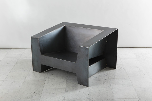 , 'Steel Low Club Chair,' 2016, Todd Merrill Studio