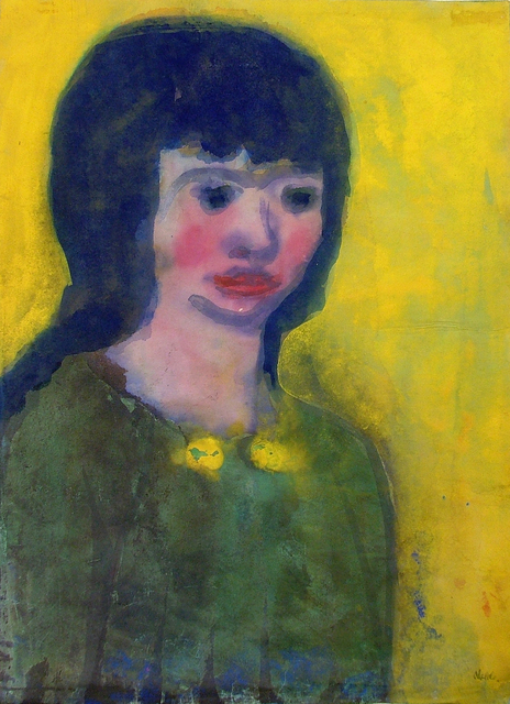 , 'Portrait of a Young Woman with Dark Hair,' ca. 1935, Galerie St. Etienne