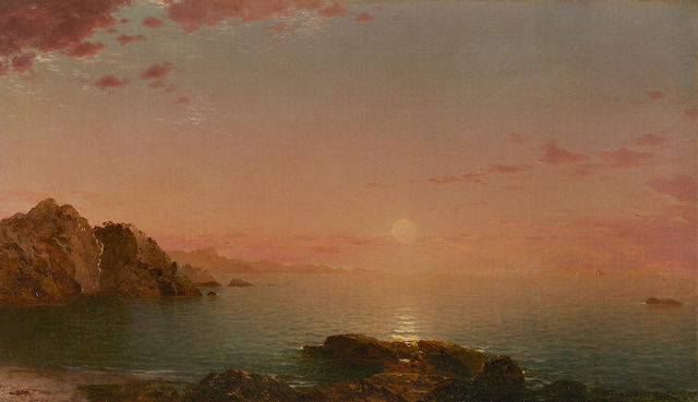 , 'Pro Patria (Sunset on the Coast),' 1864, Questroyal Fine Art