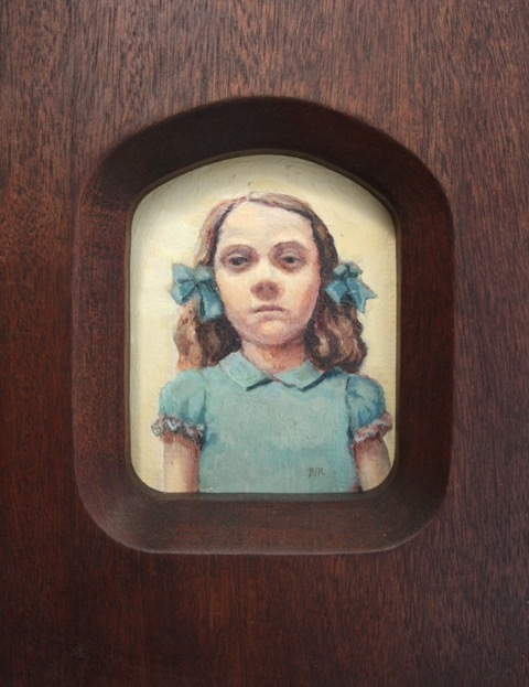 , 'Girl with Ribbons (Miniature),' 2018, bo.lee gallery
