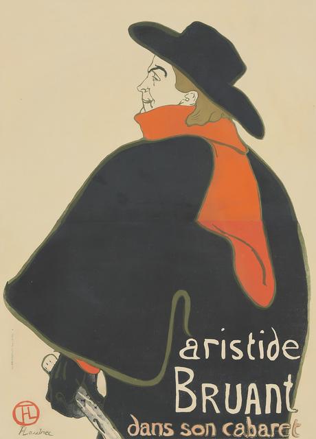 , 'Aristide Bruant Dans Son Cabaret,' 1893, Rennert's Gallery