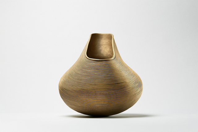 Satyendra Pakhalé, ''B.M. Kanheri '', 2018, Design/Decorative Art, Bronze with sandblasted surface, ammann//gallery