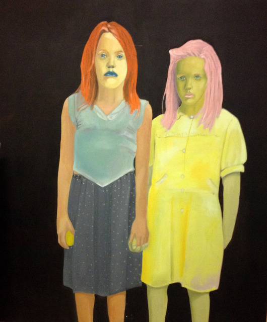 , 'İki Farklı Kız / Two Different Girls,' 2013, Sanatorium