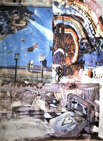 Robert Rauschenberg, 'LA Uncovered #11', 1998, Hamilton-Selway Fine Art