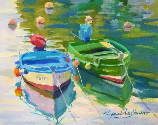 , 'Duo of Colors,' , Peninsula Gallery