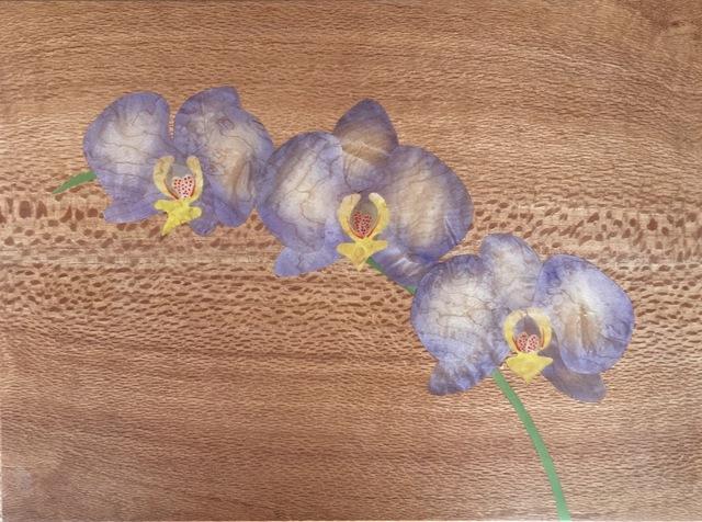, 'Purple Orchid,' 2018, Tiffany's Art Agency