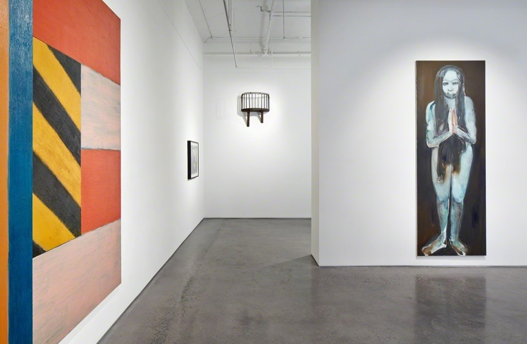 Installation view: Meet Me Halfway: Selections from the Anita Reiner Collection, 2015. © John Muggenborg