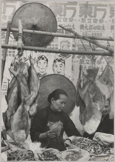 , 'A Street Market Stall, Hong Kong.,' 1952, Magnum Photos