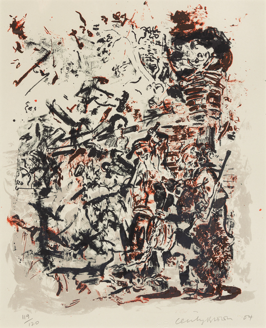 Cecily Brown, 'Study after An Election by William Hogarth', 2004, Hindman
