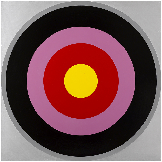 Poul Gernes, 'Untitled (Target Painting)', 1966-1969, Galleri Nicolai Wallner