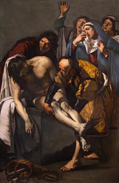 , 'The Entombment ,' 1617, Museo Thyssen-Bornemisza