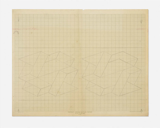 , 'Study / Sketch for a Structural Constellation,' ca. 1969, Robert Fontaine Gallery