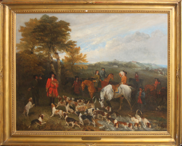 Richard Barrett Davis, 'The Coverley Hunt', 1852, EastCoastArt
