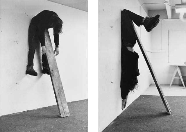 , 'Plank Piece I–II,' 1973, Gagosian