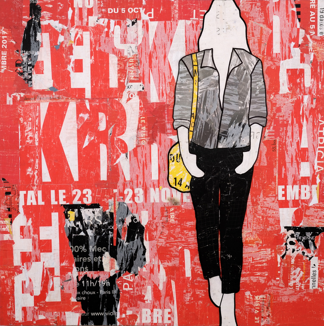 , 'Single Red Billboard,' , Gilman Contemporary