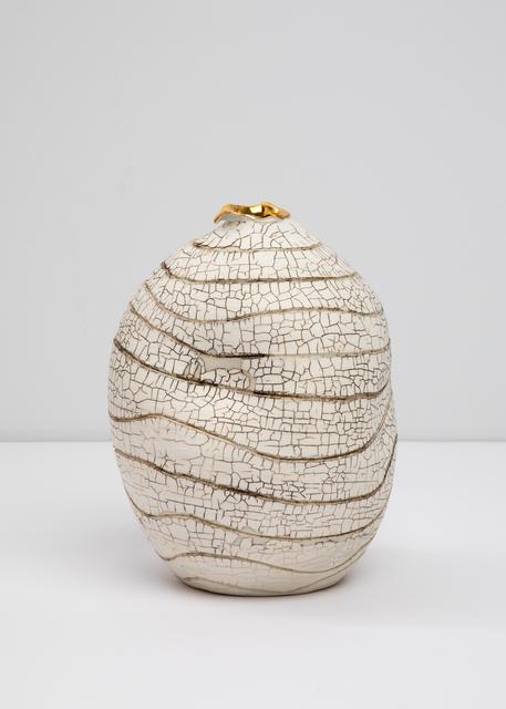 , 'Gold Lipped Vessel #1,' 2018, Tayloe Piggott Gallery