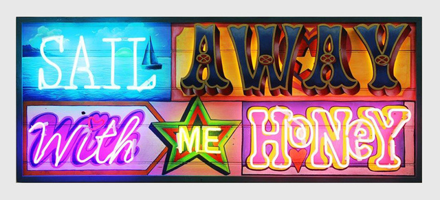 , 'SAIL AWAY WITH ME HONEY,' 2014, Art Angels