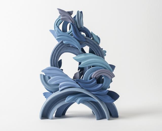 , 'Pride & Joy Blue I,' 2017, Cynthia Corbett Gallery