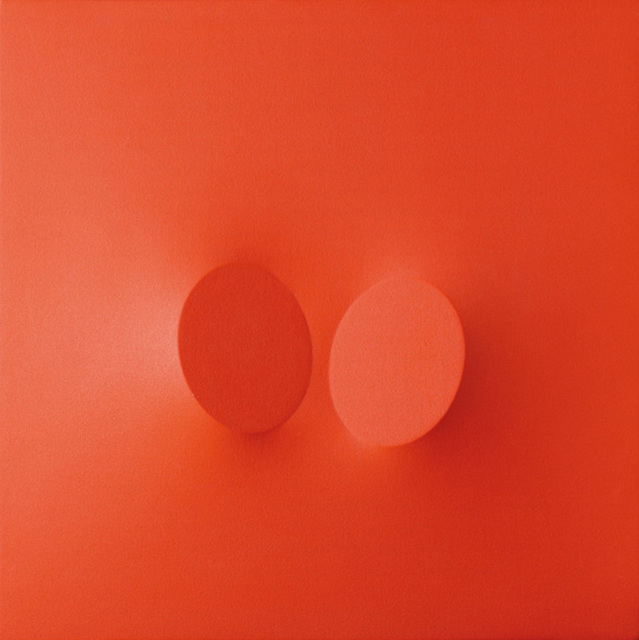 , 'Due ovali rossi,' 2005, Galerie Andreas Binder