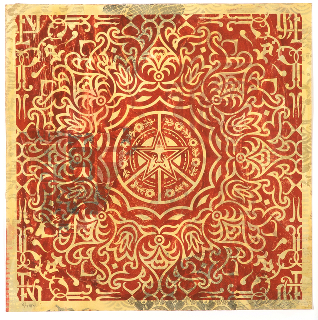 , 'Ornate Pattern (Red),' 2010, 212GALLERY