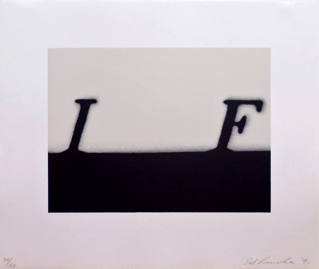 , 'IF (small version),' 1991, Gallery Neptune & Brown