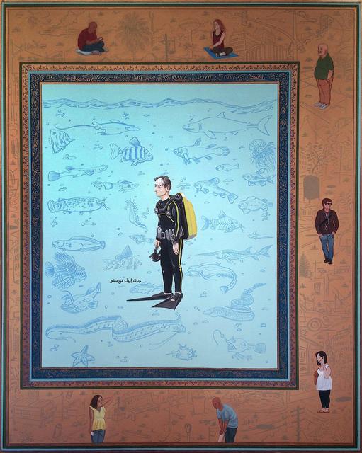 Sandow Birk, 'The Material Realm: The Deep (Jacques Yves Cousteau)', 2014, Koplin Del Rio