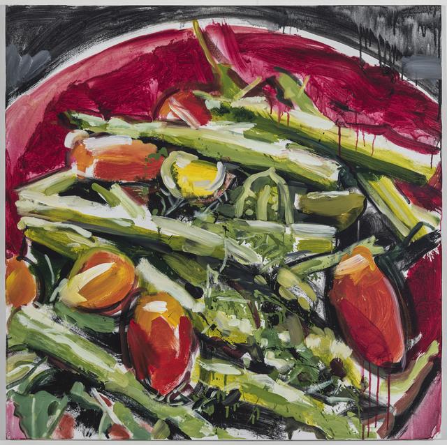 , 'Salad,' 2018, Johannes Vogt Gallery