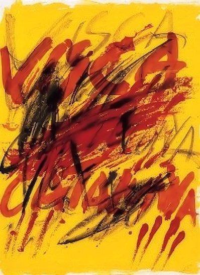 Antoni Tàpies, 'Poems from the catalan 6', ARTEDIO