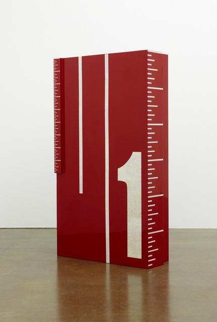 , 'Ruler No.1,' 2012, Leeahn Gallery