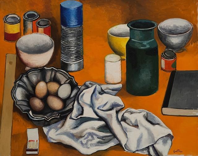 Renato Guttuso, 'Oggetti', 1978, Painting, Oil on canvas, Finarte
