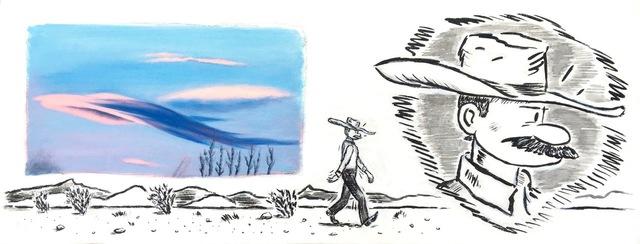 , 'Desert Solitaire,' 2016, Mark Moore Fine Art