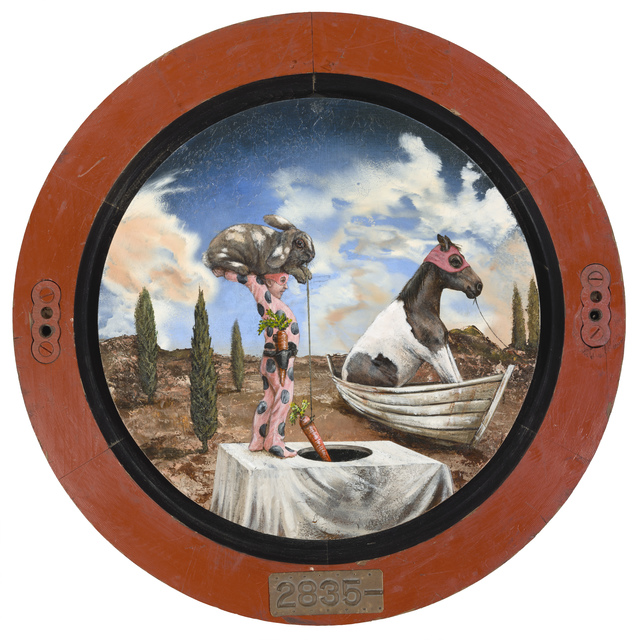 , 'The Taunting of Aesop and Abalone,' 2019, Patricia Rovzar Gallery