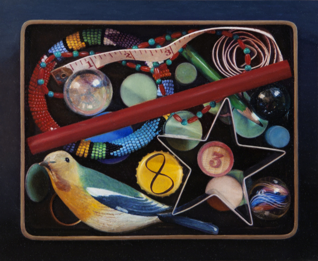, 'Box of Coloured Objects,' 2010, Nancy Hoffman Gallery